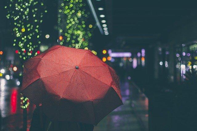 Genieten van de regen
